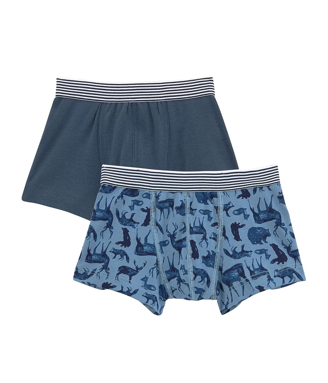 Petit Bateau Boy's Boxer Shorts Pack of 2 4461400