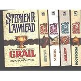"""The Pendragon Cycle 5 Book Set """"Taliesin"""", """"Merlin"""", """"Arthur"""", """"Pendragon"""" and """"Grail"""" (The Pendragon Cycle, 1, 2, 3, 4, 5)"""