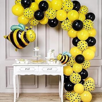 Amazon.com: PartyWoo globos de abeja, 72 unidades, globos ...