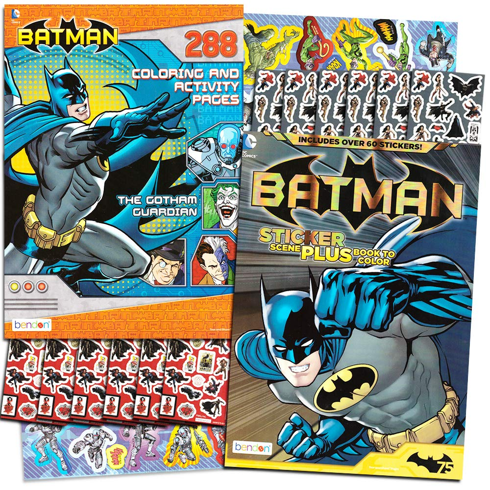 Batman-Related Coloring Books Group of 19 (Whitman/Watkins ...