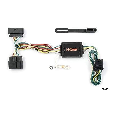 amazon com: curt 55510 vehicle-side custom 4-pin trailer wiring harness for  select chevrolet colorado, gmc canyon, isuzu i-series: automotive