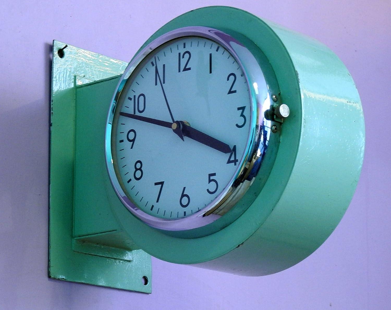 Amazon.com: Antique Rare Original Dual Face Marine Ship Slave Clock ...