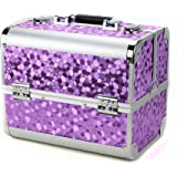 Glow Professional Vanity Case Makeup Jewellery Nail Polish Beauty Box Beauty Accessories Storage Case