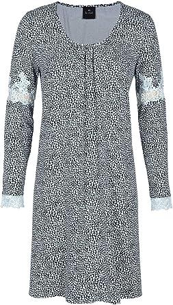Le Chat - Camisa de Noche Estampada de Encaje SWANN 701 para Mujer Multicolor 46: Amazon.es: Ropa y accesorios