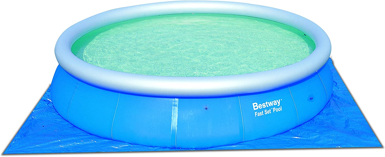 Bestway - Piscina con Bomba y Accesorios 457x122 cm (57148 ...