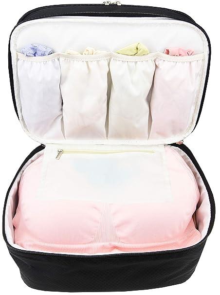 Amazon.com: Bolsa organizadora de viaje para ropa interior ...