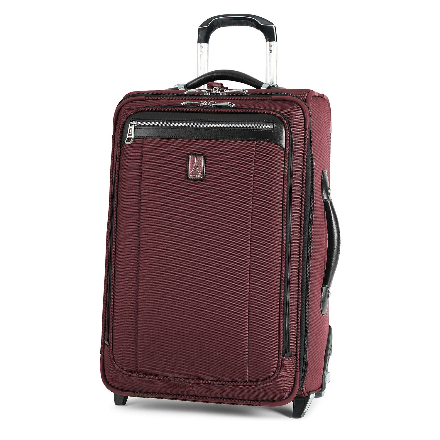 Travelpro Platinum Magna 2 Carry-On Expandable Rollaboard Suiter Suitcase, 22-in., Marsala Red by Travelpro