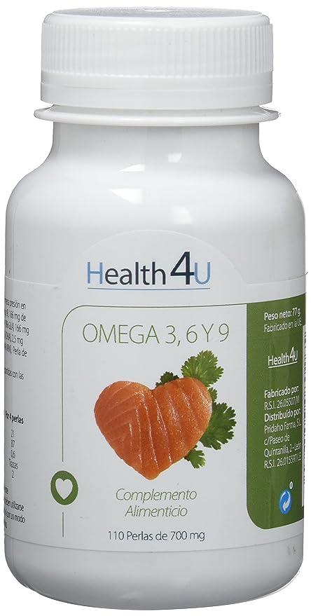 H4U - H4U Omega 3,6,9 110 perlas de 700 mg