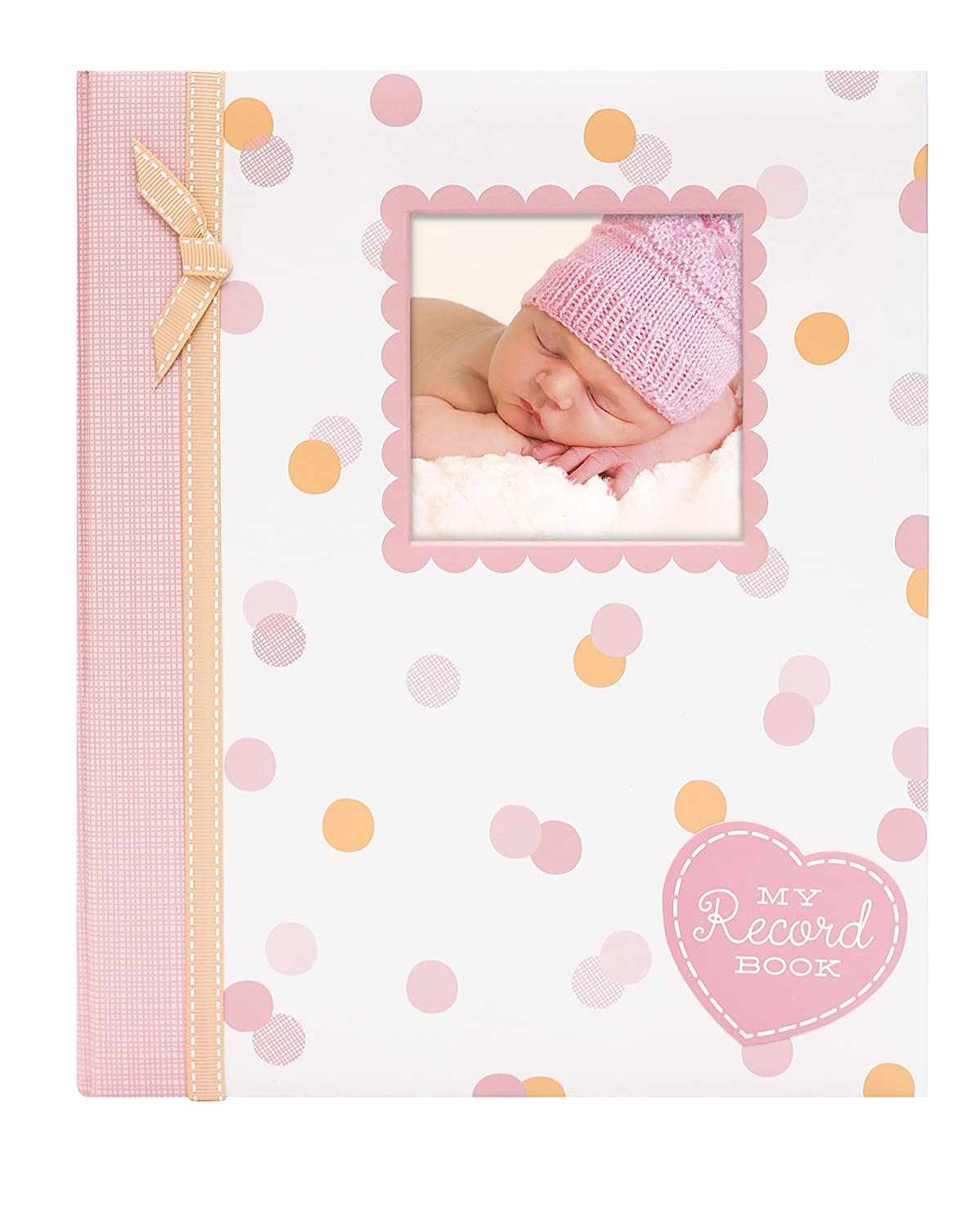Tiny Ideas Polka Dots Baby Memory Book Photo Journal, multi Pearhead Inc. 92260