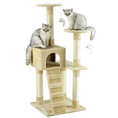 Go Pet Club 52  Cat Tree Furniture