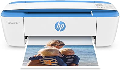 HP DeskJet 3775 - Impresora compacta Multifuncional de Tinta, Color Azul