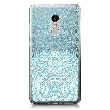 CASEiLIKE Funda Redmi Note 4, Carcasa Xiaomi Redmi Note 4, Arte de la Mandala 2306, TPU Gel Silicone Protectora Cover