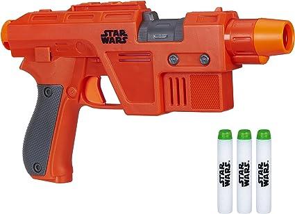 BLACK Imperial Blaster//Gun Weapon GREAT Replacement Star Wars