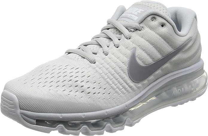Nike Air Max 2017 Mens Running Lifestyle Shoes 849559 009 Pure Platinum Grey NIB