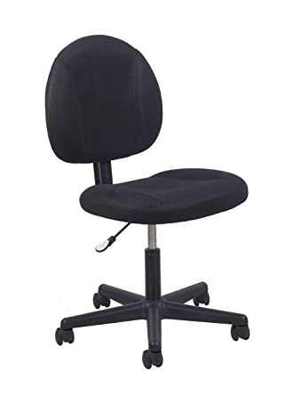 Amazoncom Essentials Swivel Upholstered Armless Task Chair