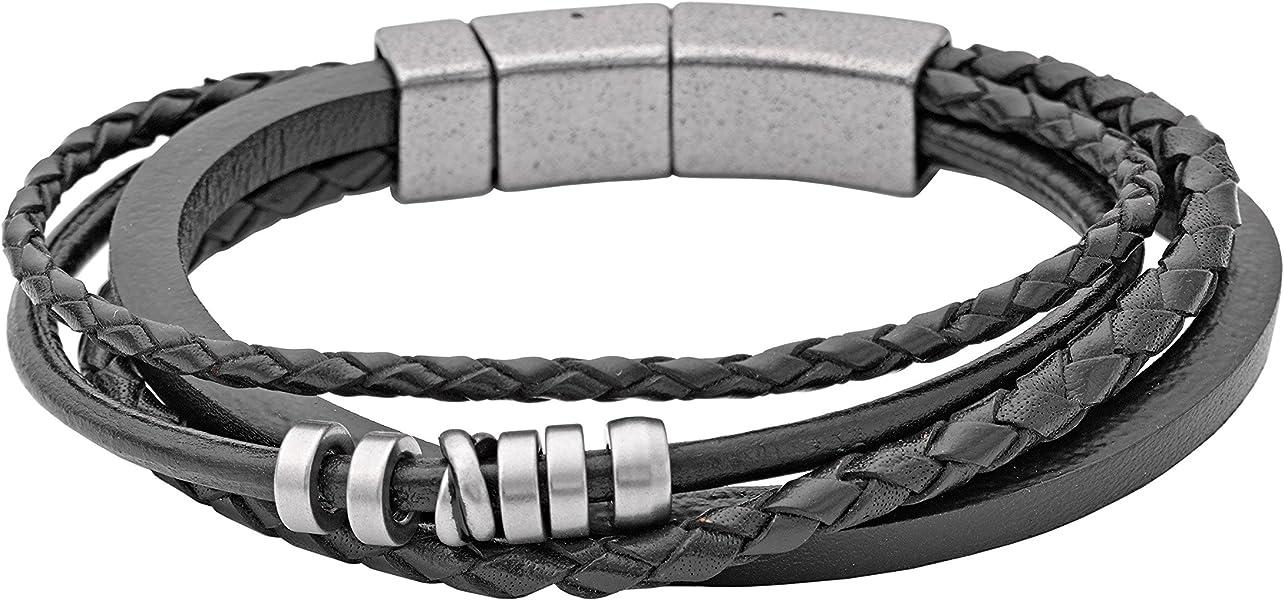 ee2eff07ef8 Fossil Men's Bracelet JF85299040: Fossil: Amazon.co.uk: Jewellery