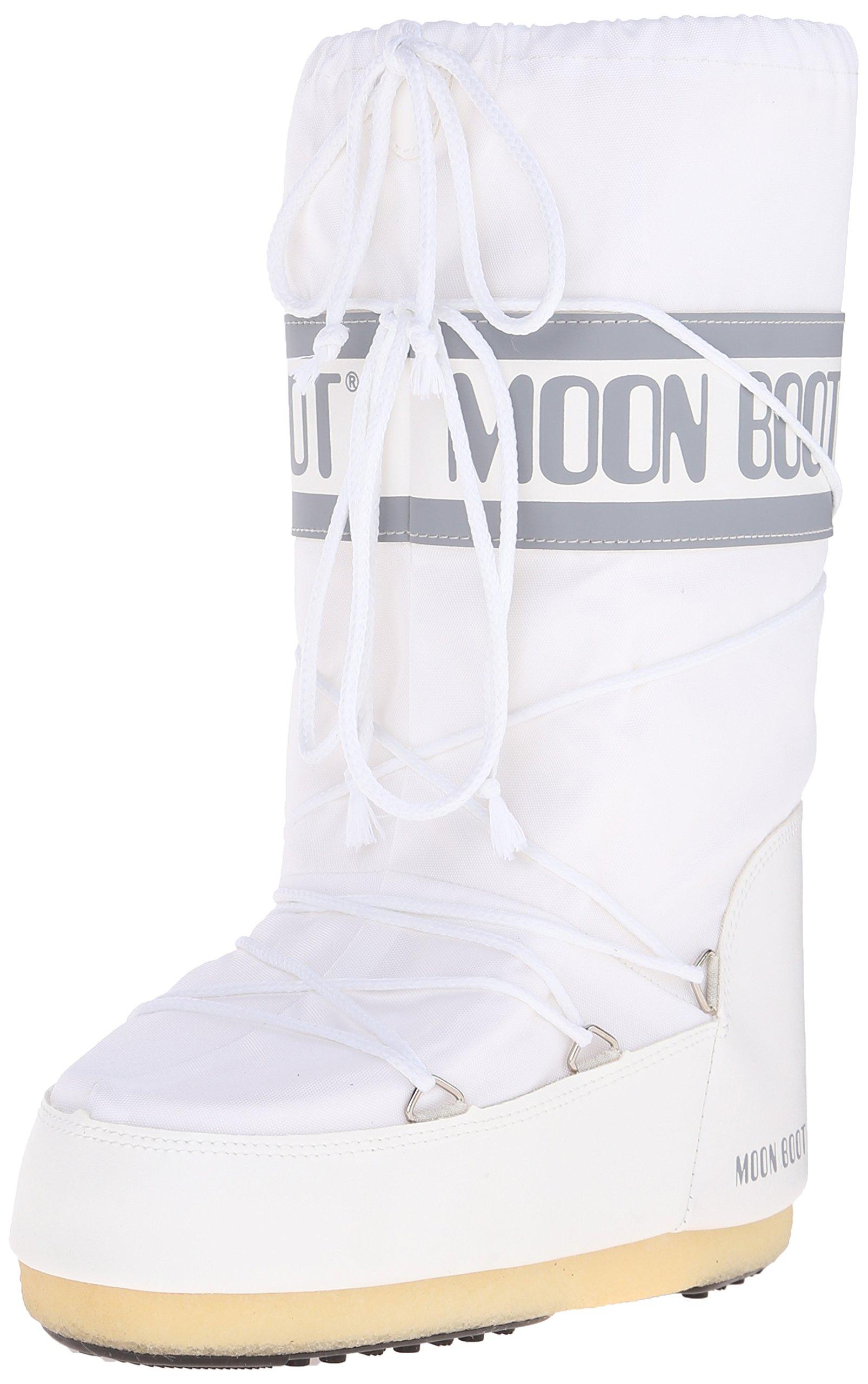 Tecnica Moon Boot Nylon - Women's White, 42.0/44.0