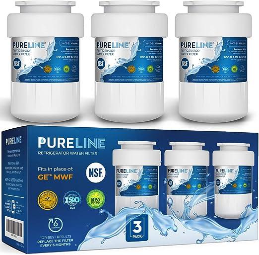 Amazon.com: r Cartucho de filtro de agua compatible GE MWF ...