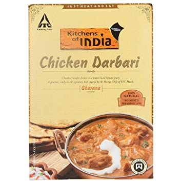 Superb Kitchens Of India, Chicken Tikka Darbari (butter Laced Tomato Gravy )285g