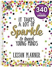 Teacher Created Resources 2152 Confetti Lesson Planner
