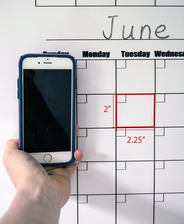 giant wall calendar glance dry erase wall calendar blank 12 month large calendar 36