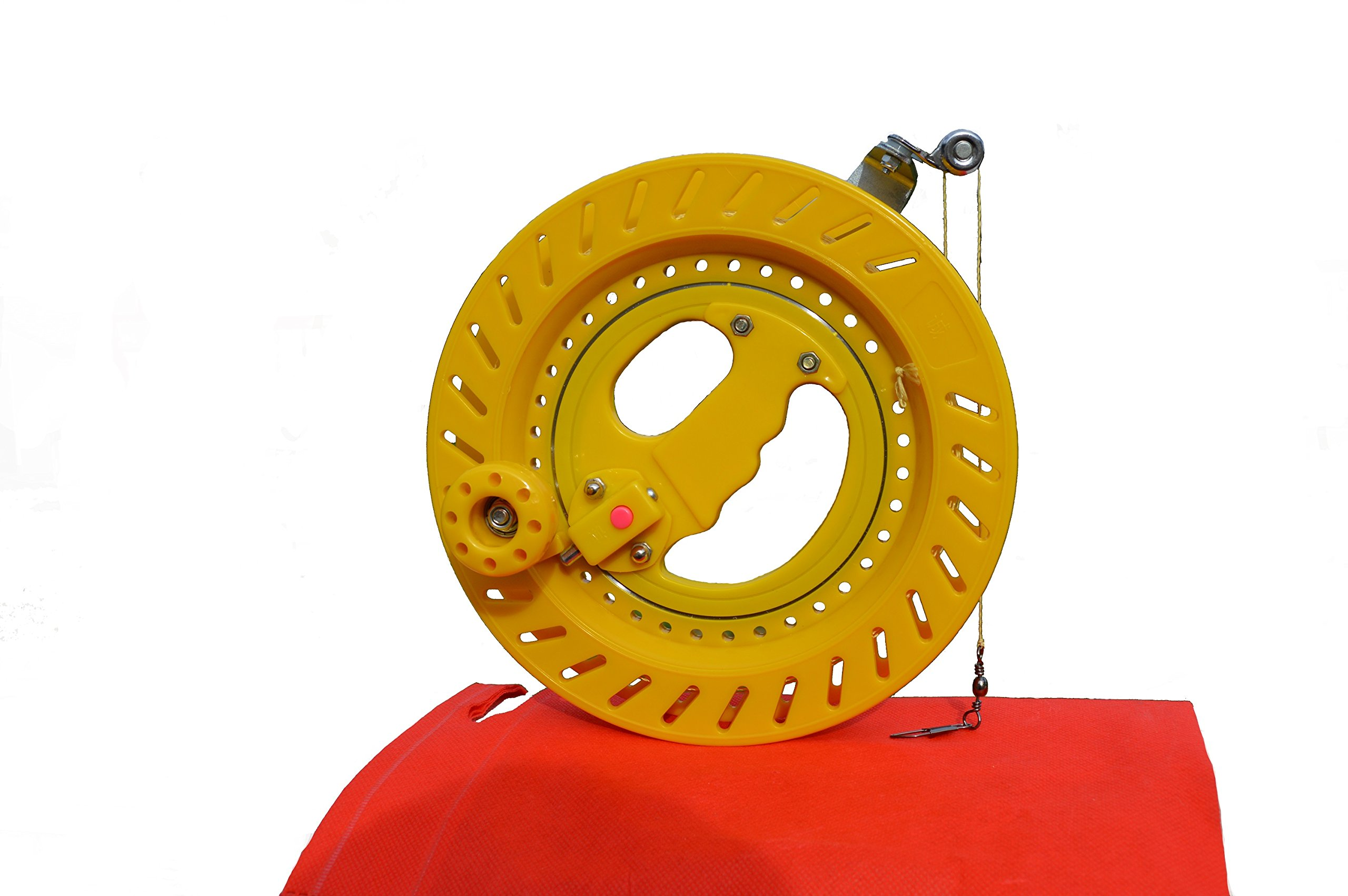 Professional Reel Winder with Strong Kevlar Line 9 inch Diameter with 1,000 FT Line