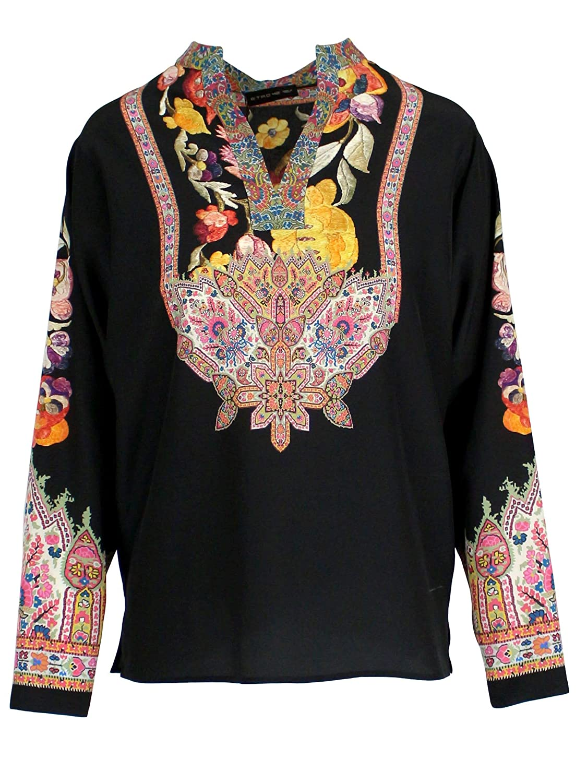 Etro Women's 1500596630001 Black Silk Top