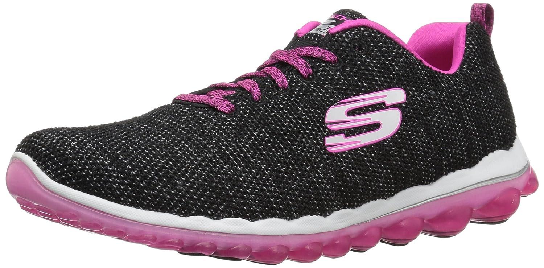 Skechers Women's Skech Air 2.0 Next Chapter Sneaker B074BYYYDK 8 B(M) US|Black Hot Pink