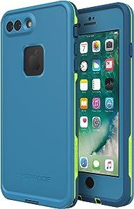 Lifeproof FRe Series Waterproof Case for Iphone 8 Plus & 7 Plus - Retail Packaging - Banzai (Cowabunga/Wave Crash/Longboard)