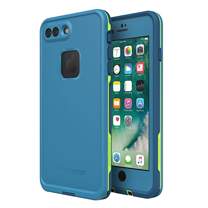 Amazon.com  Lifeproof FRĒ SERIES Waterproof Case for iPhone 8 Plus   7 Plus  (ONLY) - Retail Packaging - BANZAI (COWABUNGA WAVE CRASH LONGBOARD)  Cell  Phones ... 8c93a3883