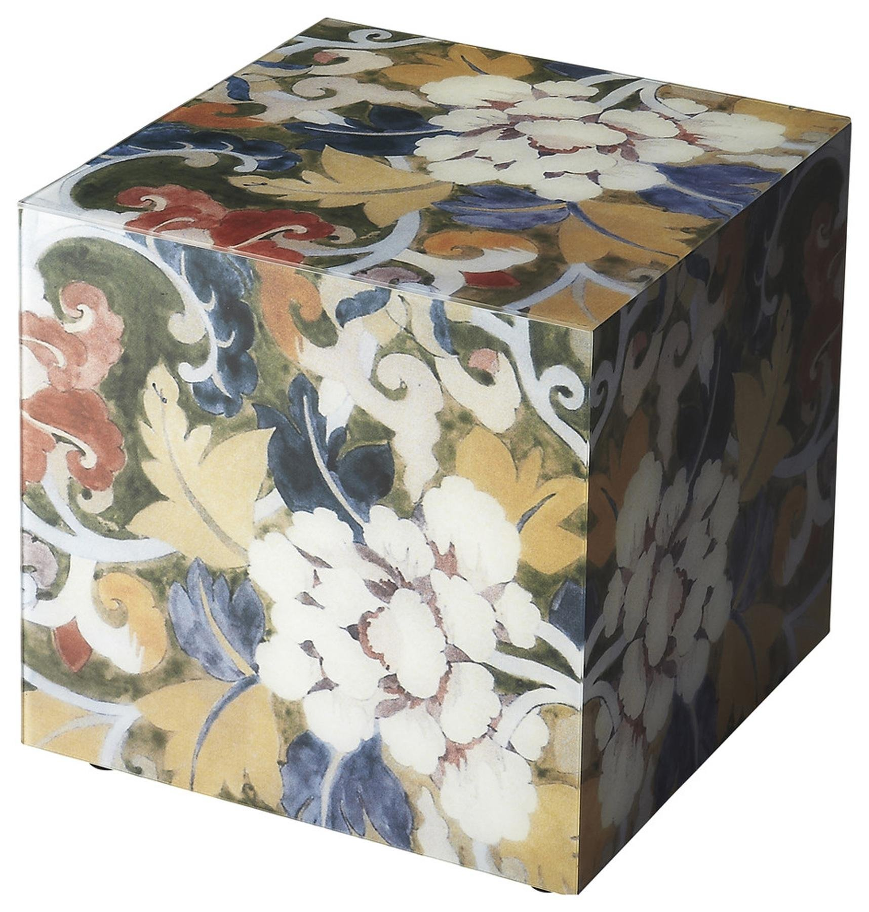Butler Specialty Company 5106020 Bunching Cube Table Marmon Painted Glass