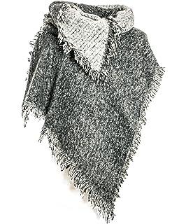 1ec5d545ec15b0 Gadzo Damen Schal xxl Schal Oversize schals damen winter Stern schal  oversized damenschal lang
