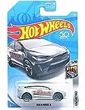 Hot Wheels 2018 50th Anniversary HW Metro Tesla Model X 247/365, Silver