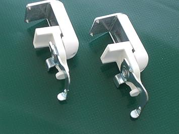 Klemmträger Nr.10 Jalousie Montage ohne zu bohren Aluminiumjalousie Klickhalter