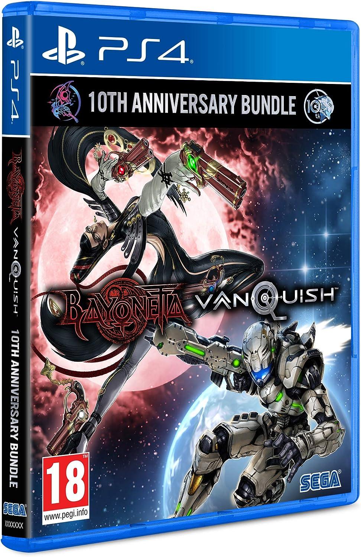 Bayonetta & Vanquish - Edición 10th Anniversary Bundle Standard: Amazon.es: Videojuegos