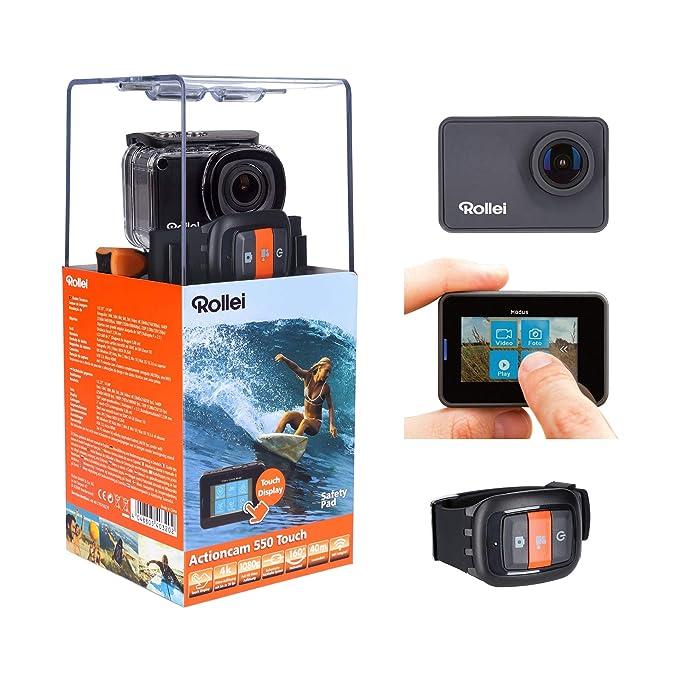 1 opinioni per Rollei Actioncam 550 Touch- Action Cam WiFi con schermo tattile e risoluzione
