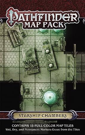 Pathfinder Map Pack: Starship Chambers: Engle, Jason A.: Amazon.es: Juguetes y juegos