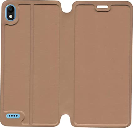 official photos 11dd5 08f6c SBMS Flip Cover Infinix Smart 2 (Brown)