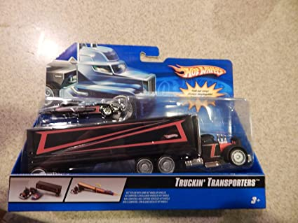 Amazon.com: Hot Wheels Truckin transporters Camión Truck ...