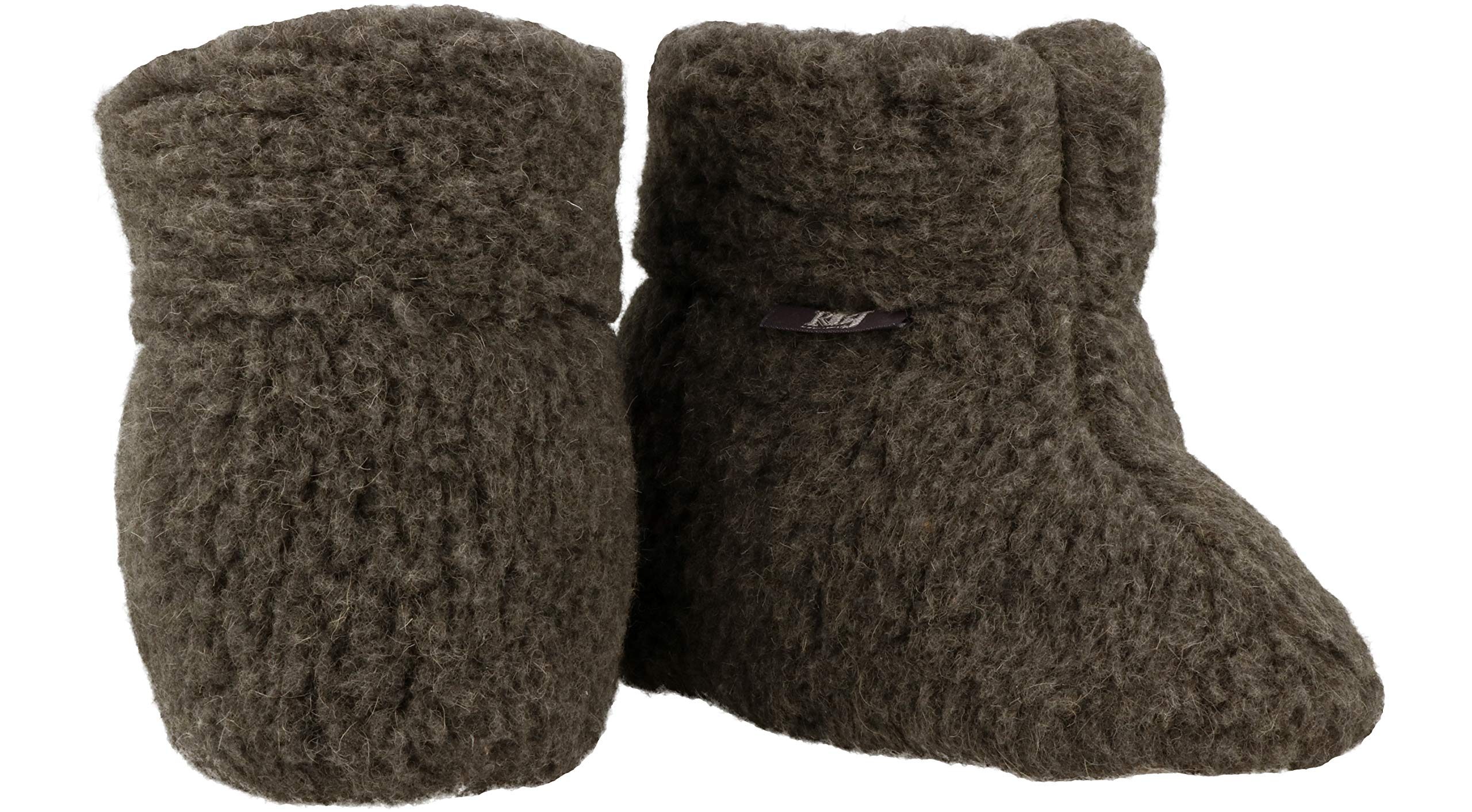 ESTRO Unisex Pure Sheep Warm Wool Slippers Boots Sheepskin ole