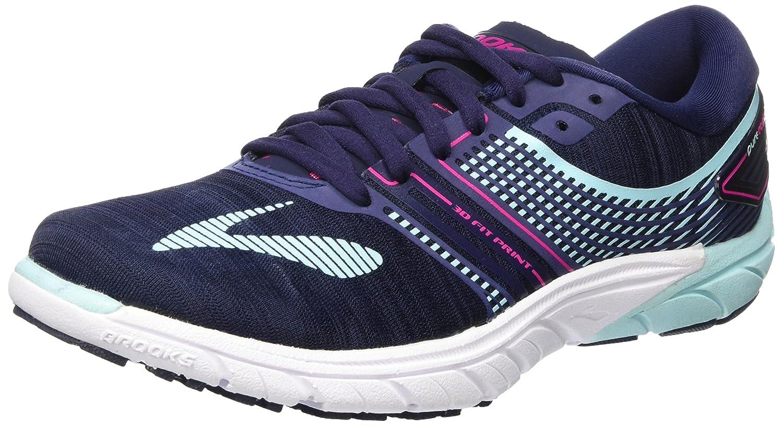 Brooks Womens PureCadence 6 Overpronation Stability Running Shoe B01N03D4XN 5 B(M) US|Evening Blue/Pink Peacock/Island Paradise