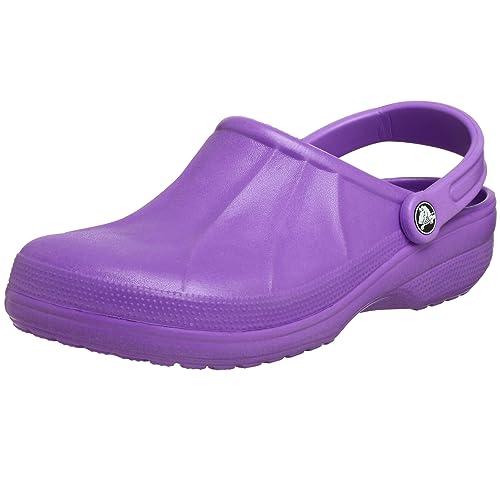Crocs Aspen zapatos zuecos de diferentes colores tamaños, color Violeta, talla 45/46