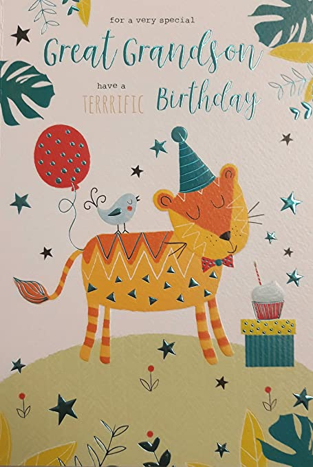 Tarjeta de cumpleaños para nieto. ICG - Tarjeta de ...