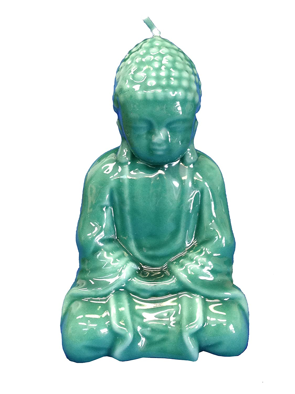 Biedermann & Sons Jade Buddha Candle, Green C1228