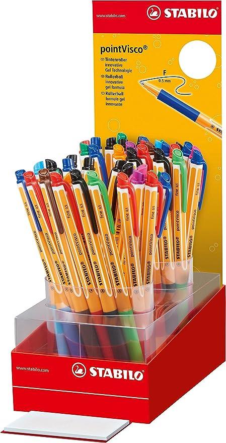 Stabilo 1099/50 – 1 pointVisco – Rotuladores de colores (Pack de ...
