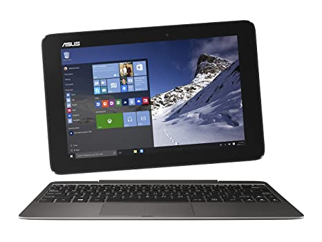 ASUS Transformer Book T100HA-C4-GR 10.1-Inch 2 in 1 Touchscreen Laptop (Cherry Trail Quad-Core Z8500 Processor, 4GB RAM, 64GB Storage, Windows 10), ...
