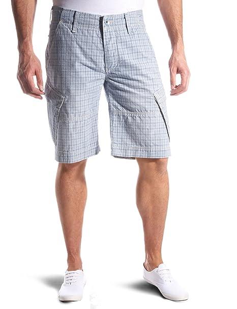 Jeans Cortos Azul Nestor W551 Gas 38 Pantalones Hombre Para Y7mygfIb6v