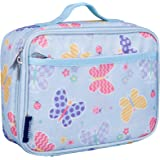 Wildkin Lunch Box, Insulated, Moisture Resistant, Easy to Clean with Extras for Quick and Simple Organization, Ages 3+, Perfect for Kids or On-The-Go Parents, Olive Kids Design, Butterfly Garden