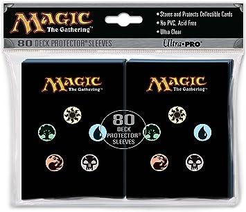 Ultra Pro 82123 - Fundas Protectoras para Cartas Magic (80 Unidades): Amazon.es: Electrónica