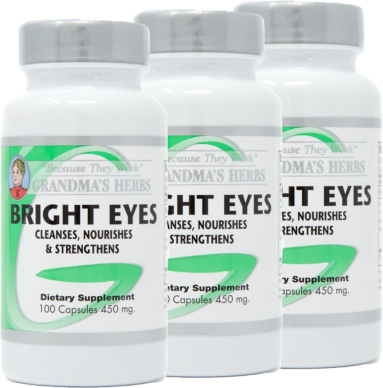 Bright Eyes – All Natural Vision Enhancer – 100 Capsules 3